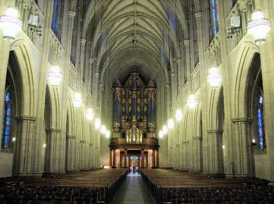 Duke Chapel Interior