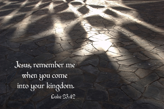 Jesus, remember me