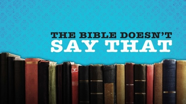 bible doesn't say